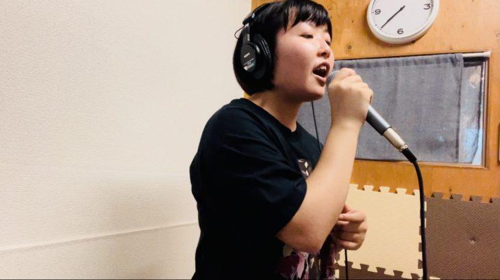 歌のレコーディング♪を行いました!!